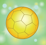 Football ball on background Stock Photo