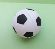 Football ball closeup Royalty Free Stock Images