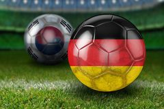 Football, Ball, Grass, Soccer Royalty Free Stock Image
