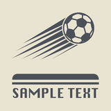 Football ball icon Royalty Free Stock Images