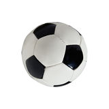 Football ball isolated Stock Image