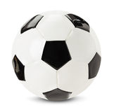 Football ball isolated on the white background Royalty Free Stock Photos