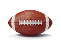 Football ball. Isolated on a white background Stock Photo
