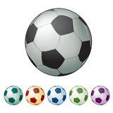 Football Ball, Soccer Ball Stock Photography