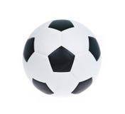 Football ball on white background Royalty Free Stock Photo