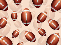 Football balls background Royalty Free Stock Image