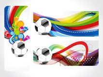 Football Banner Background Royalty Free Stock Photos