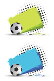 Football banners Royalty Free Stock Image