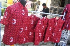 Football batik Royalty Free Stock Photo