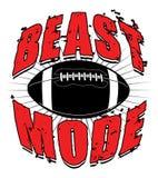 Football Beast Mode Royalty Free Stock Photo