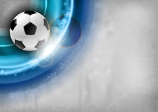 Football blue Royalty Free Stock Images