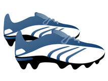Football boots Stock Image
