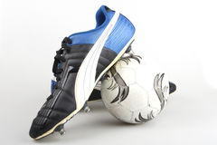 Football boots Royalty Free Stock Photos