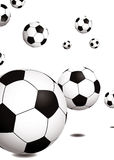 Football bounce Stock Photos