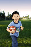 Football boy stock image