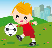 Football boy Stock Photos