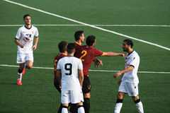 Football brawl Royalty Free Stock Images