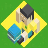 Football Brazil Royalty Free Stock Photos