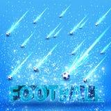 Football card Royalty Free Stock Photos