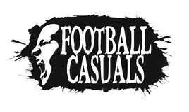 Football casuals Stock Photos