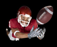 Football Catch Stock Image