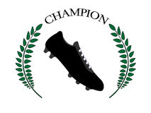 Football Champion 1 Royalty Free Stock Photography