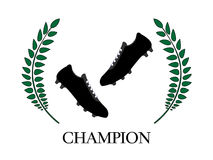 Football Champion 4 Royalty Free Stock Images