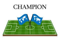 Football Champion of the World Royalty Free Stock Images
