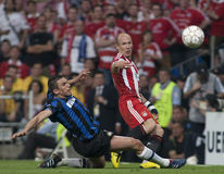 Football: Champions League Final 2010 Stock Images