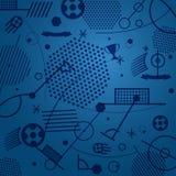 Football championship abstract background. Vector illustration royalty free illustration