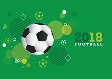 2018 Football Championship Design Royalty Free Stock Photo
