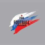 2018 Football Championship Symbol Stock Photos