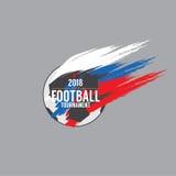 2018 Football Championship Symbol Vector Stock Photo