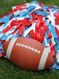 Football Cheerleading Stock Photo