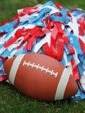 Football Cheerleading Stock Photo