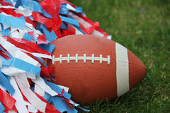 Football Cheerleading Stock Photos