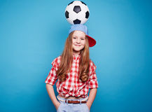 Football for children Royalty Free Stock Image