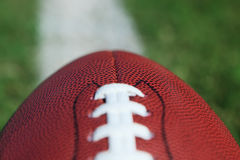 Football Close-up Stock Image