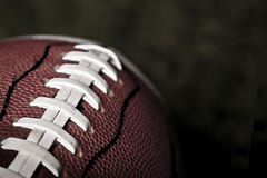 Football Close up Stock Photography