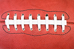 Football: Close Up View Of Football Parts Stock Photography