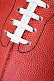 Football: Close Up View Of Football Parts Royalty Free Stock Image