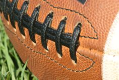 Football Closeup Royalty Free Stock Photo