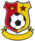 Football club Royalty Free Stock Photography