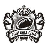 Football club. Authors illustration in vector Stock Illustration
