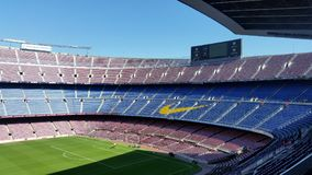 Football club barcelona camp nou stadium stock photography