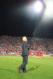 Football coach Royalty Free Stock Photo