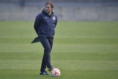 Football coach - Pedro Martins Royalty Free Stock Photography