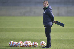 Football coach - Pedro Martins Royalty Free Stock Image