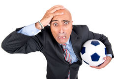 Football is coming Royalty Free Stock Images