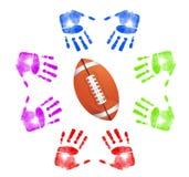 Football community concept Stock Image